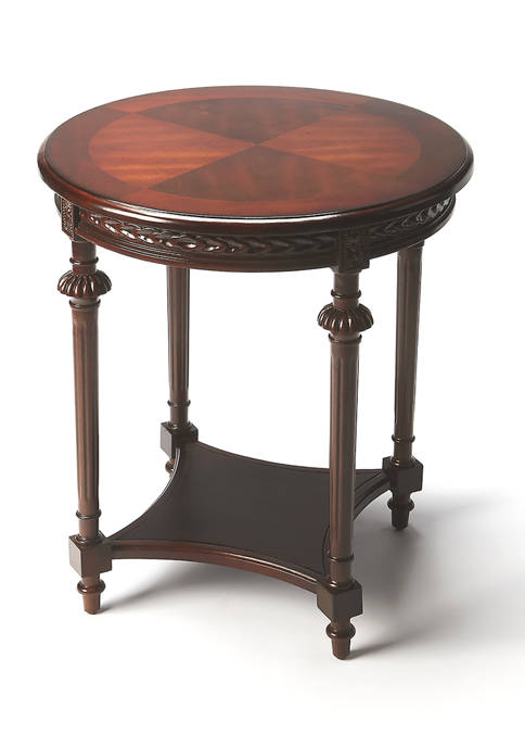 Butler Specialty Company Hellinger Plantation Cherry Lamp Table