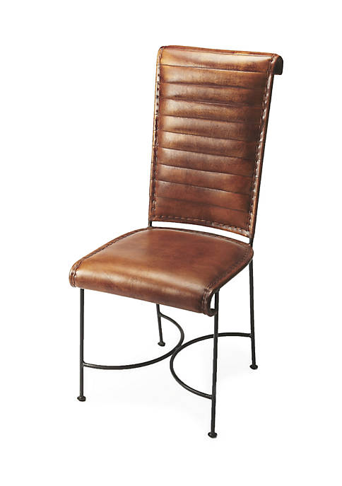 Butler Specialty Company Buxton Iron & Leather Side