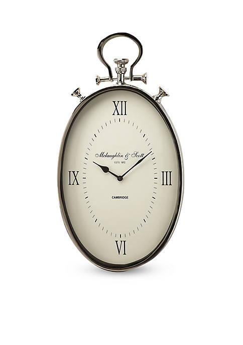 Butler Specialty Company Camden Oval Wall Clock