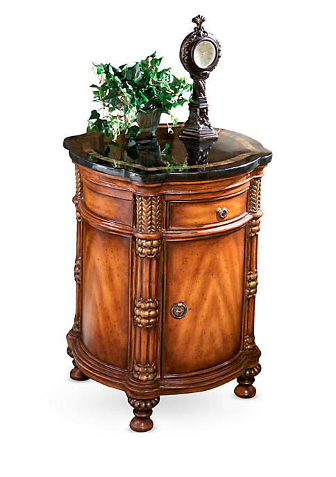 Butler Specialty Company Montero Fossil Stone Drum Table