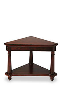 Butler Specialty Company Antwerp Plantation Cherry Corner Table