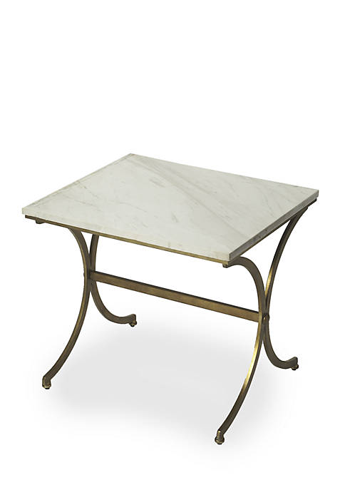 Butler Specialty Company Pamina Travertine Accent Table