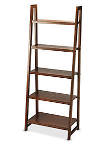Stallings Brown Bookcase