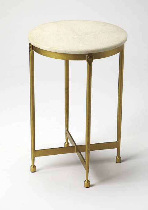 Butler Specialty Company Claypool Marble End Table