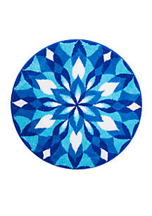 Ice Castle Round Rug Collection