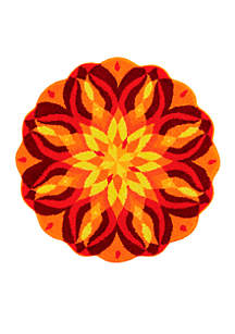 Knowledge of Self Round Rug Collection