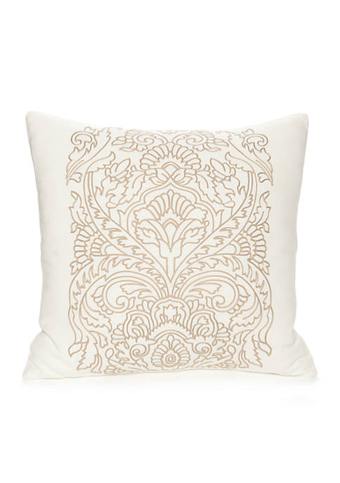 Modern. Southern. Home.™ Carson Crewel Embroidered Medallion