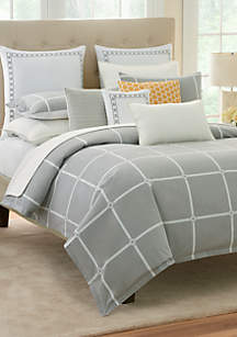 Modern.Southern.Home.  Reece King Comforter Mini Set 110-in. x 96-in.