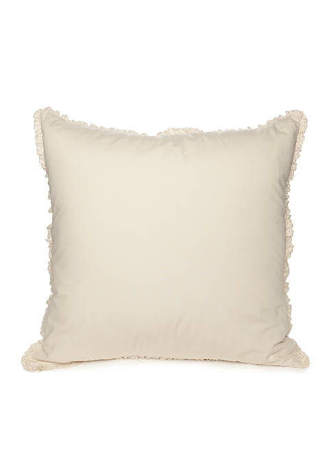 Home Accents® Eyelet Euro Sham