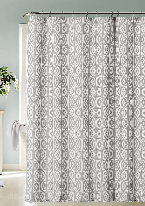 Romance Printed Fabric Shower Curtain