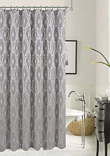 Brown And Gray Shower Curtain. Dainty Home Gramercy Park Shower Curtain Grey Curtains  belk