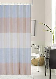 Ocean Wave Fabric Shower Curtain