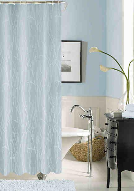 Blue Shower Curtain | belk