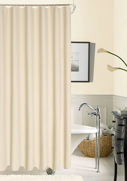Hotel Collection Waffle Shower Curtain