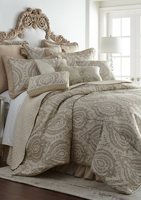 3 Piece Thread and Weave Tuscany Comforter Set