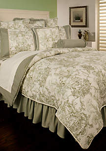 Country Toile California King Comforter Set