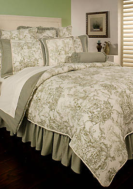 Country Toile King Comforter Set