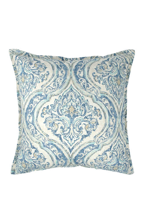 22 Inch Thread and Weave Magnolia Pillow