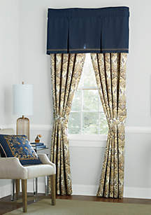 Chateau Tailored Pleated Valance