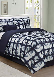 Tie Dye 6-Piece Comforter Bed-In-A-Bag