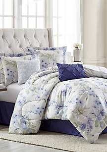 Ashley 6 Piece Comforter Bed In A Bag