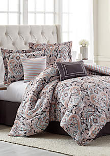 Zahara 6-Piece Comforter Bed-In-A-Bag