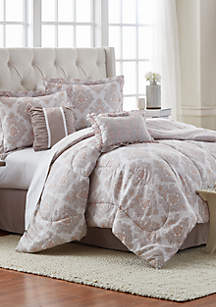 Florence 6-Piece Comforter Bed-In-A-Bag