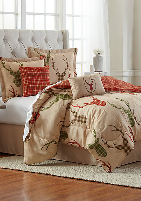 Oh Deer 6-Piece Comforter Bed-In-A-Bag