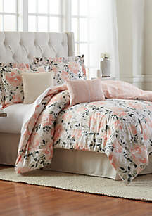 Blossom 6-Piece Comforter Bed-In-A-Bag
