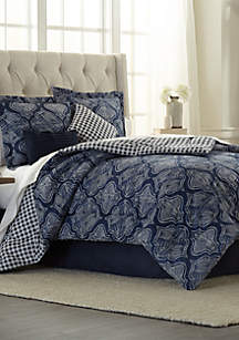 Modern. Southern. Home.™ Agra 6 Piece Comforter Bed-In-A-Bag