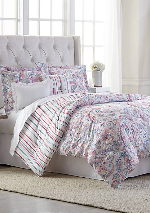 Tricia 6 Piece Comforter Bed In A Bag Set