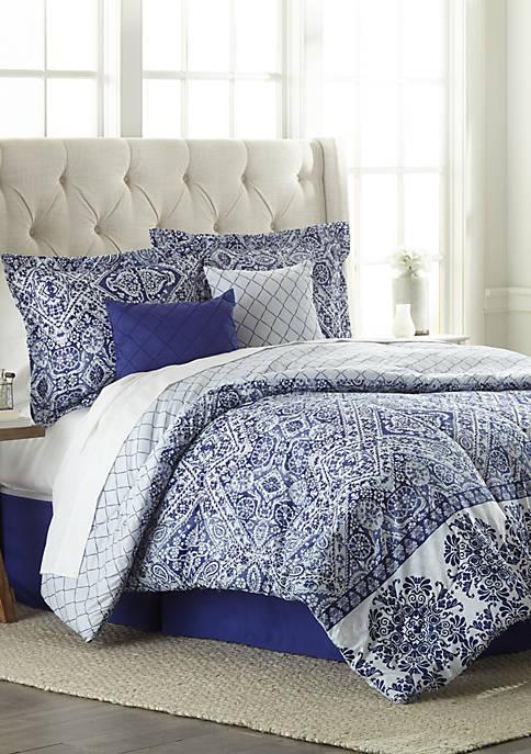 Tribecca Reversible 6 Piece Comforter Set