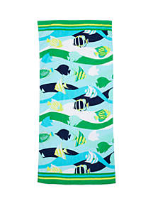 Modern. Southern. Home.™ Printed Beach Towel
