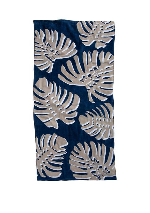 Modern. Southern. Home.™ Printed Beach Towel