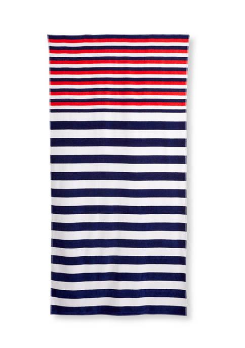 Modern. Southern. Home.™ Striped Beach Towel