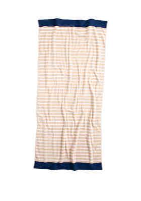 KitchenAid 2 Royal Golden Sand Stripped Towels