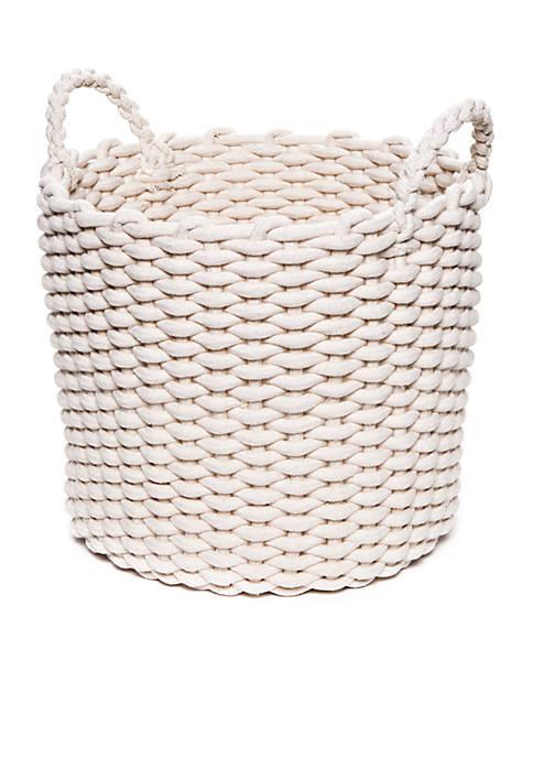 Medium Round Cotton Rope Basket