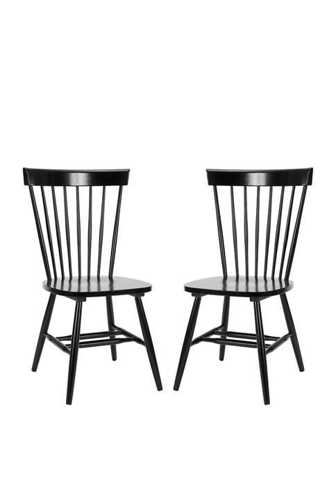 Set of 2 Parker Spindel Side Chairs