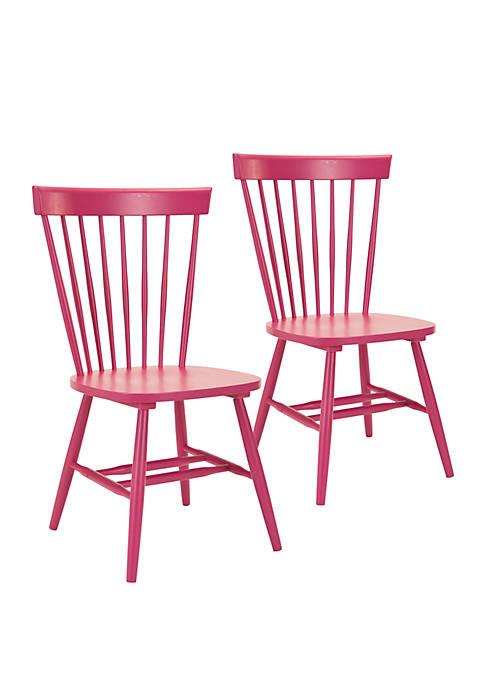 Safavieh Set of 2 Parker Spindel Side Chairs