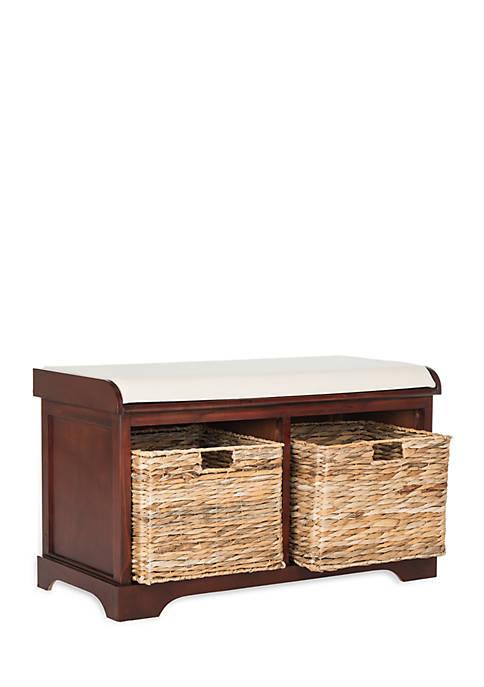 Safavieh Freddy Wicker Storage Bench