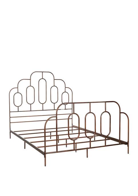 Safavieh Bronze Paloma Metal Retro Bed Frame