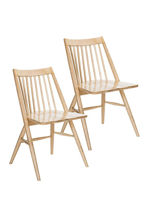 Set of 2 Wren Neutral Dining Chairs