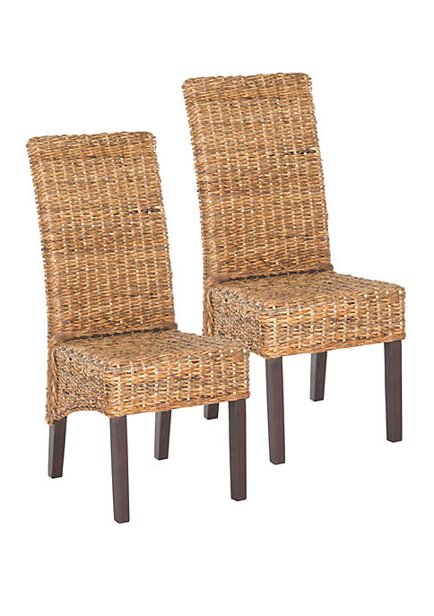 Safavieh Set of 2 Bangka Side Chairs