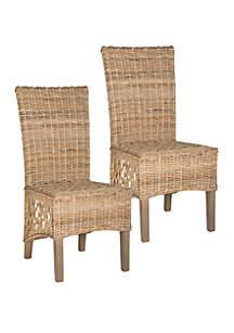 Safavieh Set of 2 Sumatra Side Chairs