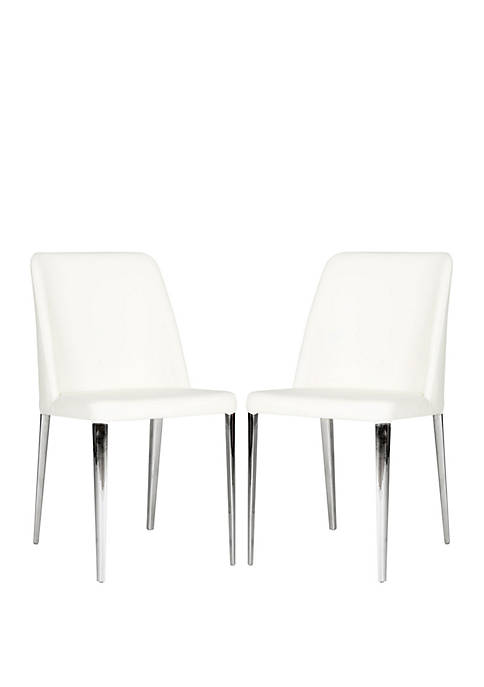 Safavieh Set of 2 Baltic White Side Chairs