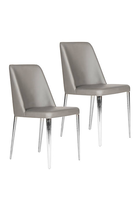 Safavieh Set of 2 Baltic Gray Side Chairs