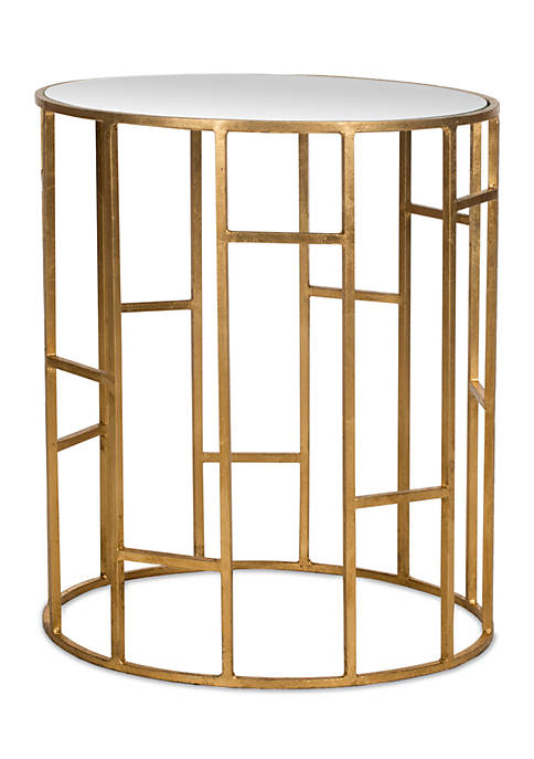 Doreen Mirror Top Accent Table