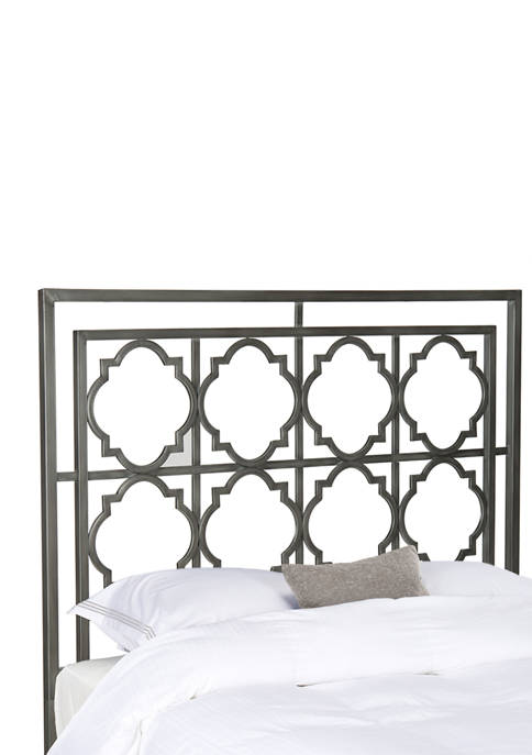 Silva Queen Metal Headboard