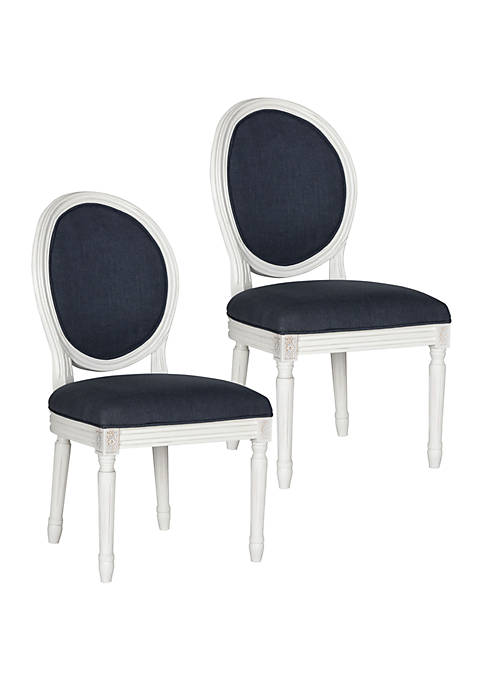 Set of 2 Holloway Oval Side Chairs