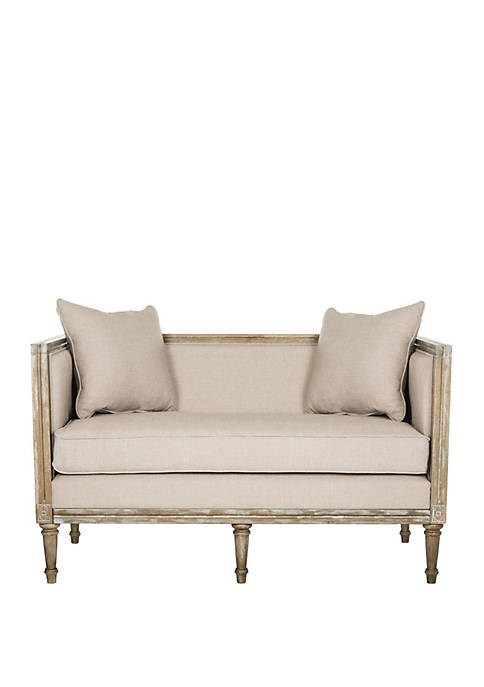 Leandra French Country Settee
